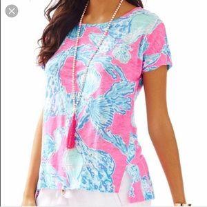 Lilly Pulitzer ✨ XL Linen shirt